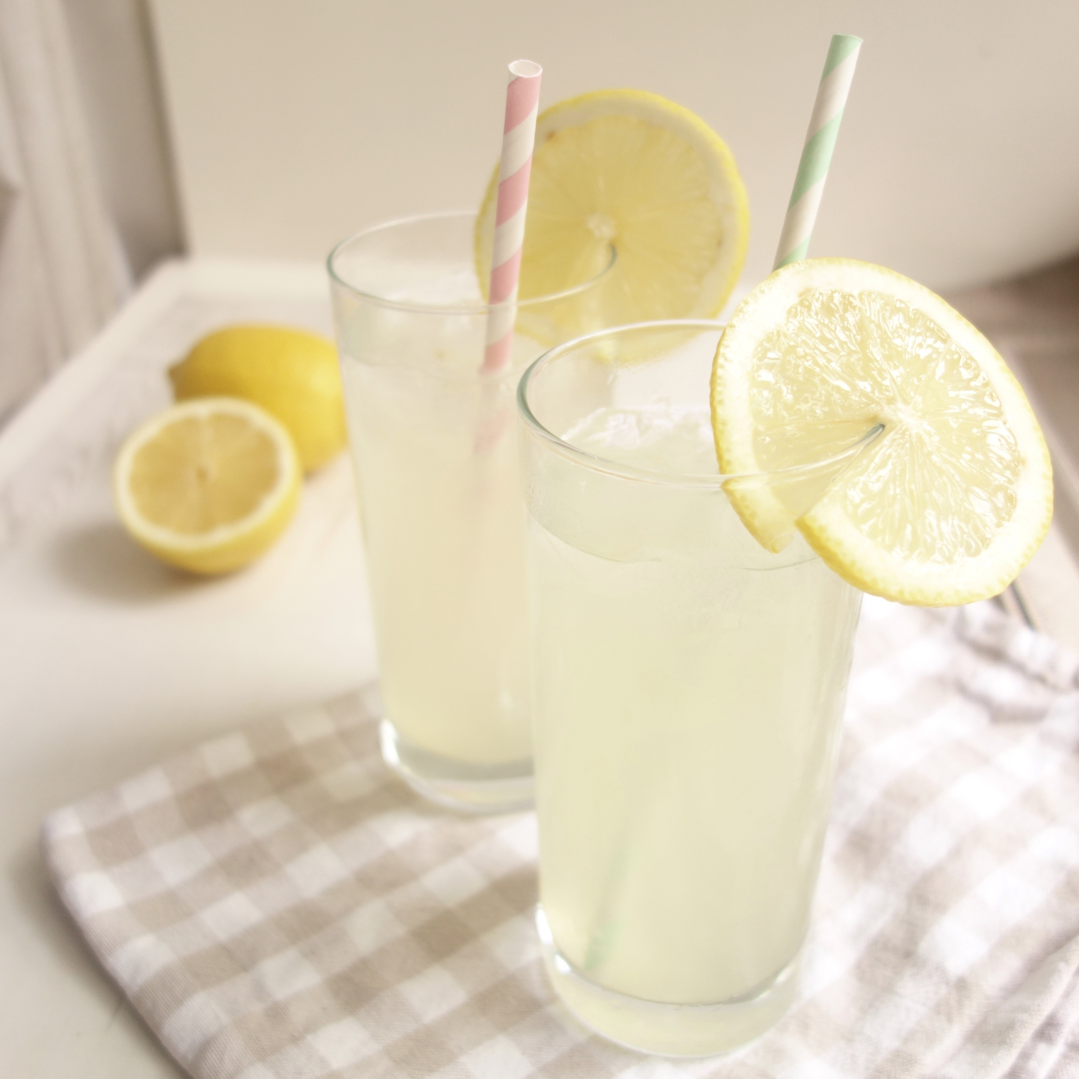 Homemade Cloudy Lemonade