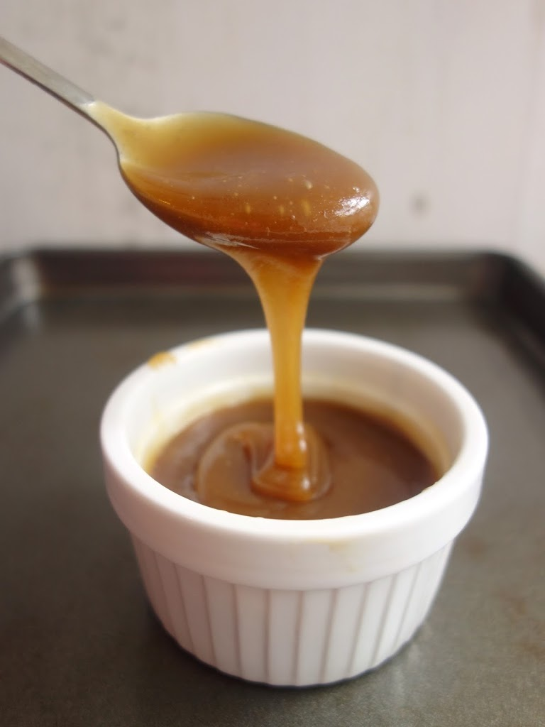 Easy Salted Caramel Sauce - A Dash of Ginger