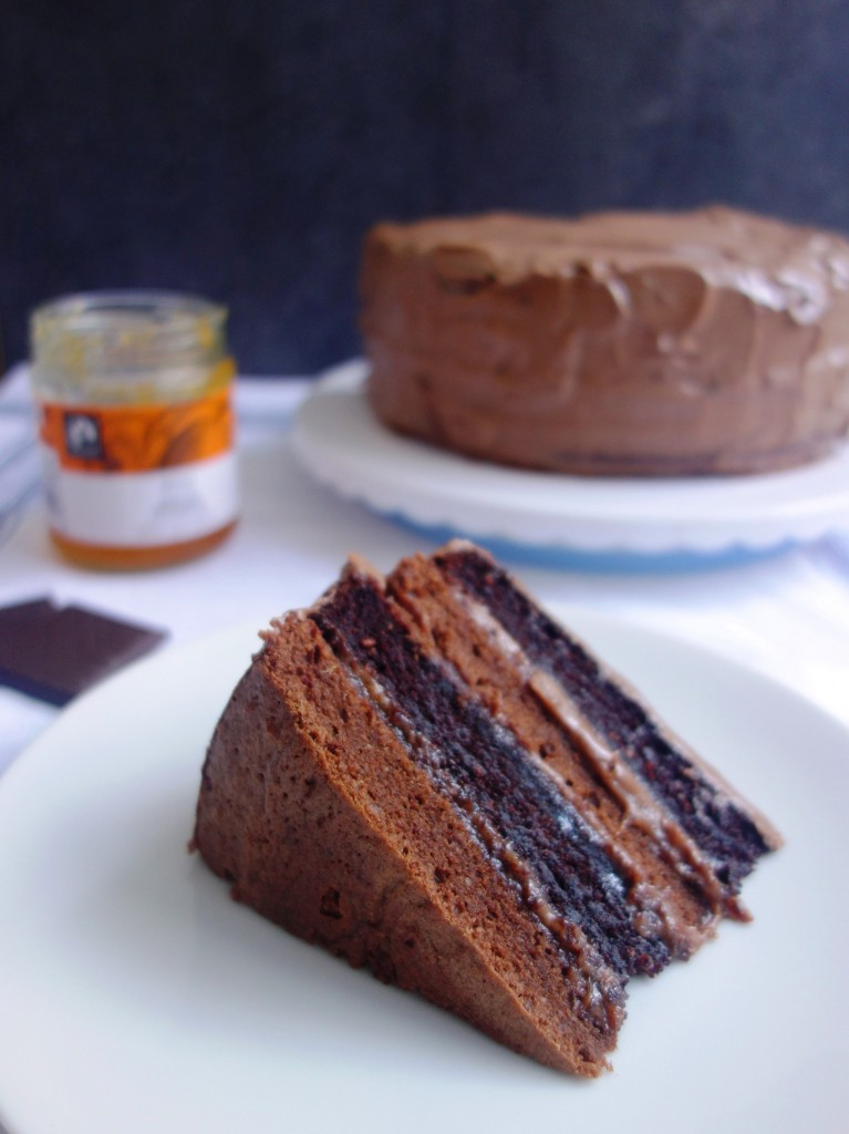 GBBO chocolate cake sacher torte recipe