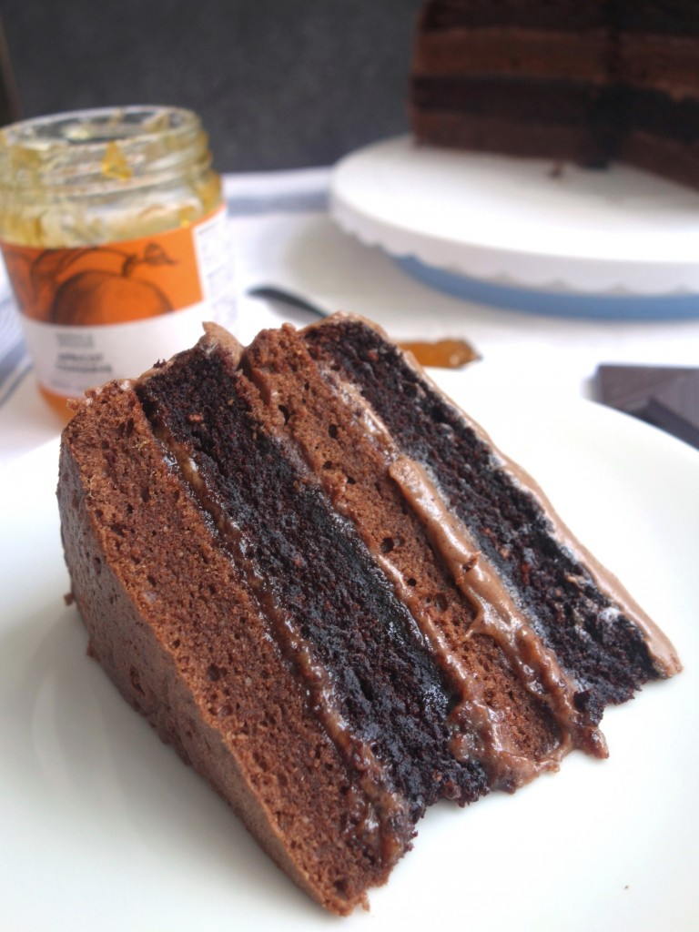 GBBO sacher torte chocolate cake