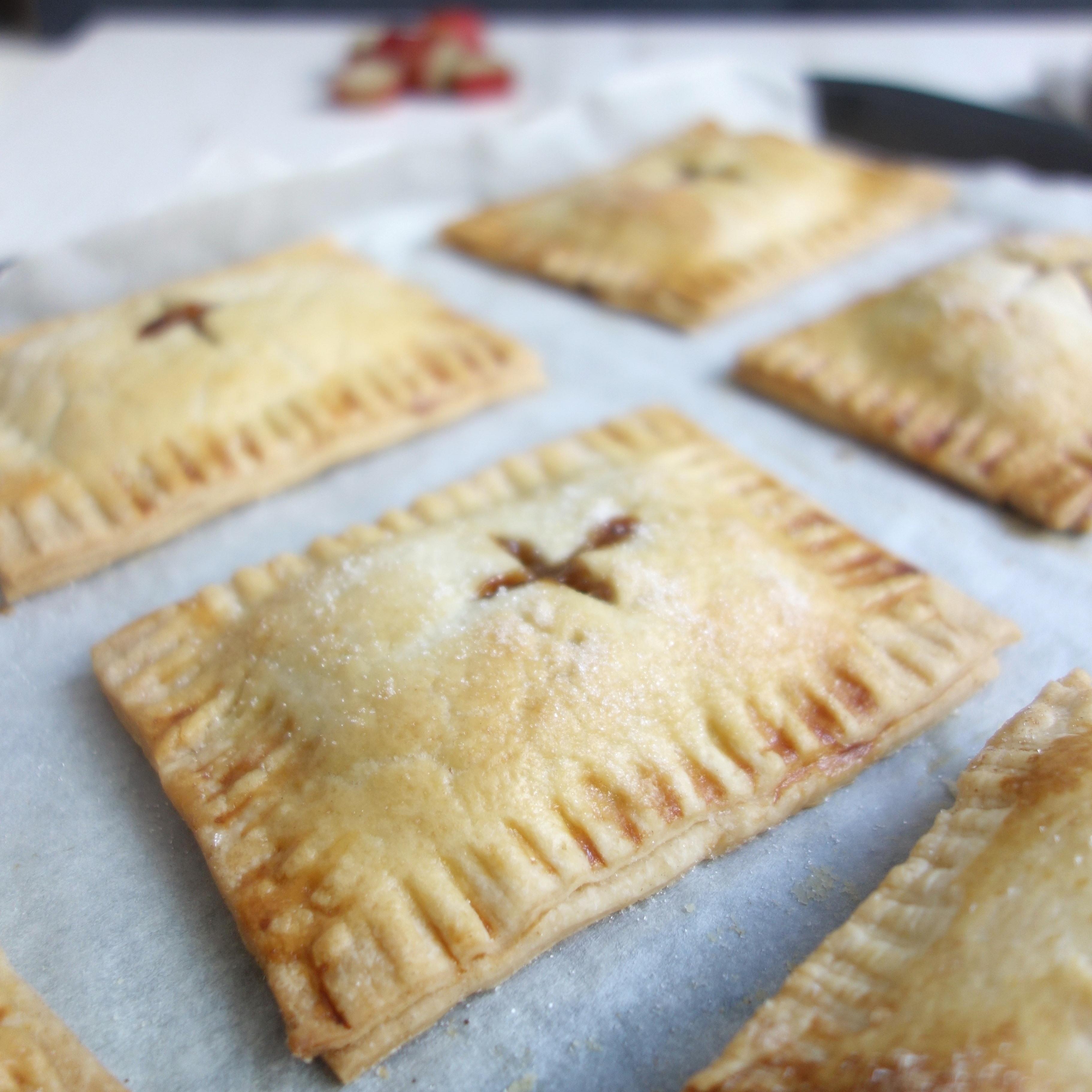 Rhubarb & Ginger Hand Pies
