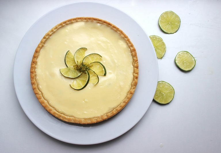 key lime pie - the great blogger bake off