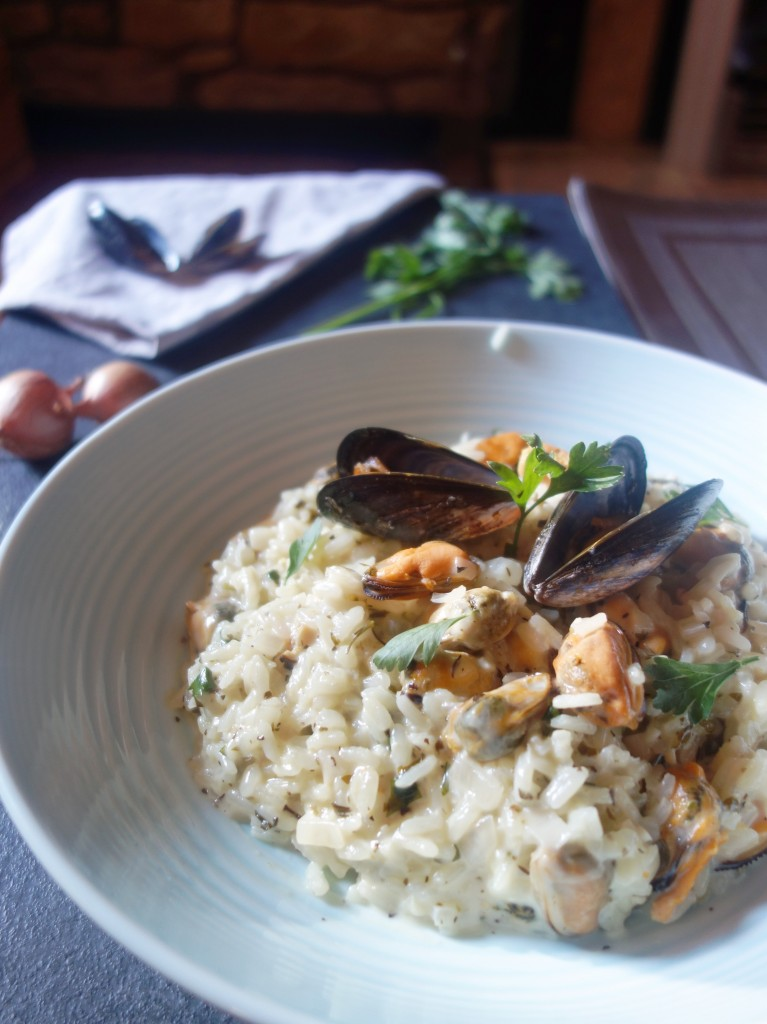 moules mariniere risotto recipe