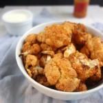 peri peri cauliflower bites