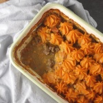 Sweet Potato + Venison Shepherd's Pie
