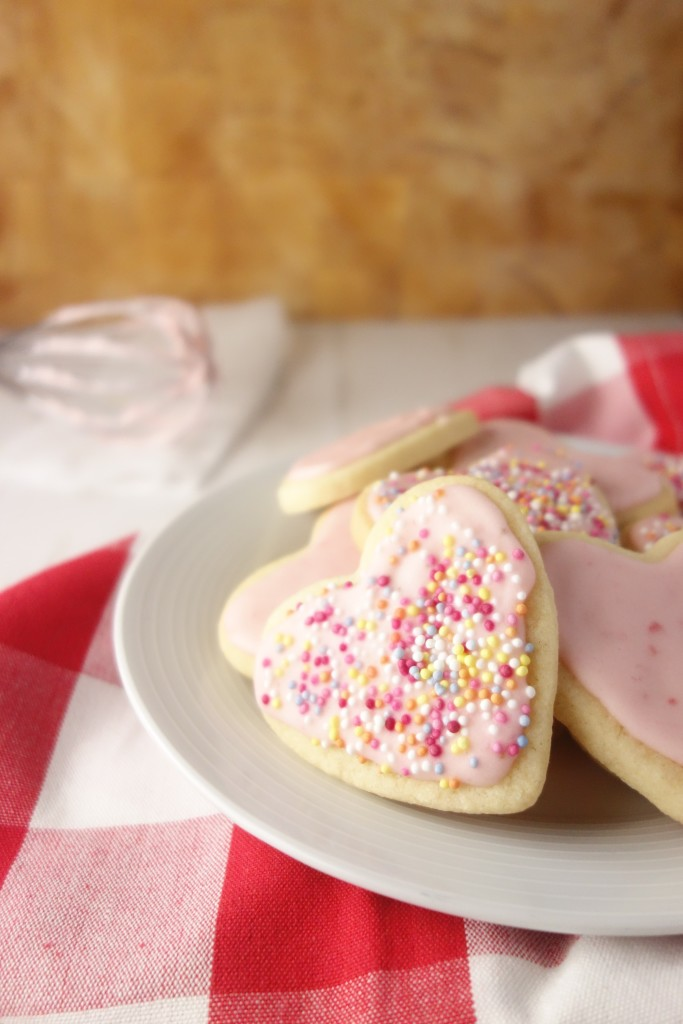 Strawberry Sugar Cookies A Dash Of Ginger