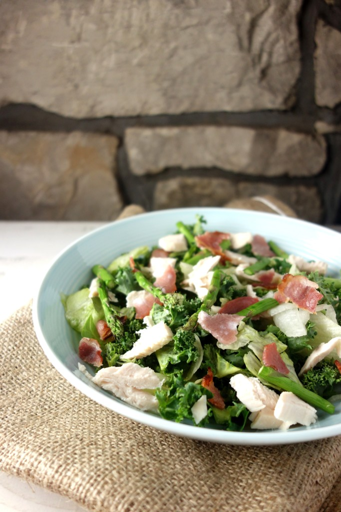 Chopped Chicken Bacon Salad