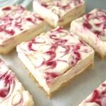 dessert white chocolate raspberry cheesecake bars
