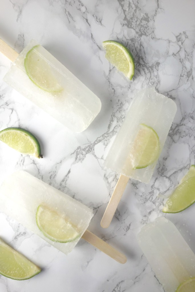 gin tonic ice lollies