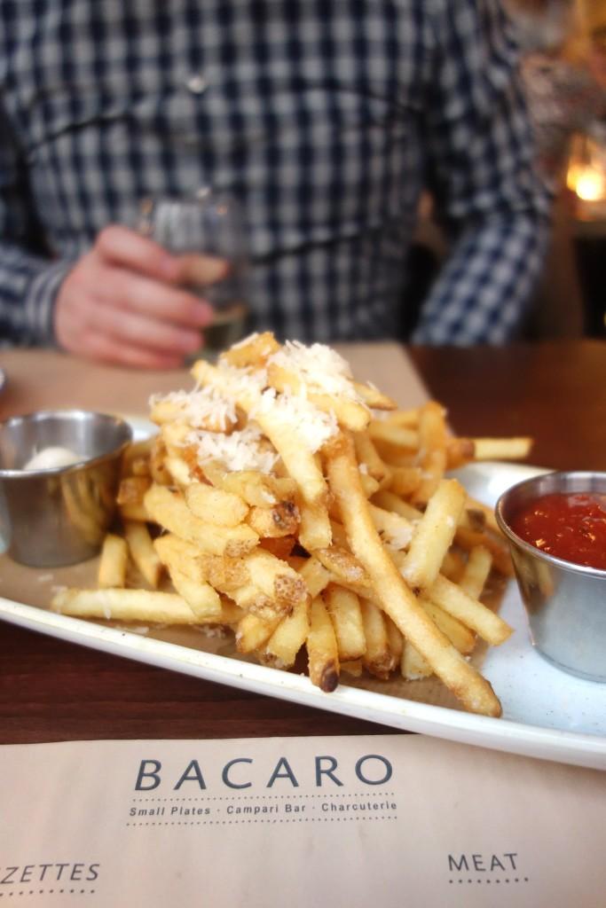 salthouse bacaro liverpool parmesan fries