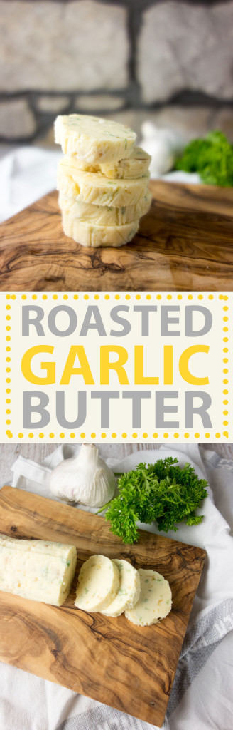 homemade-roasted-garlic-butter