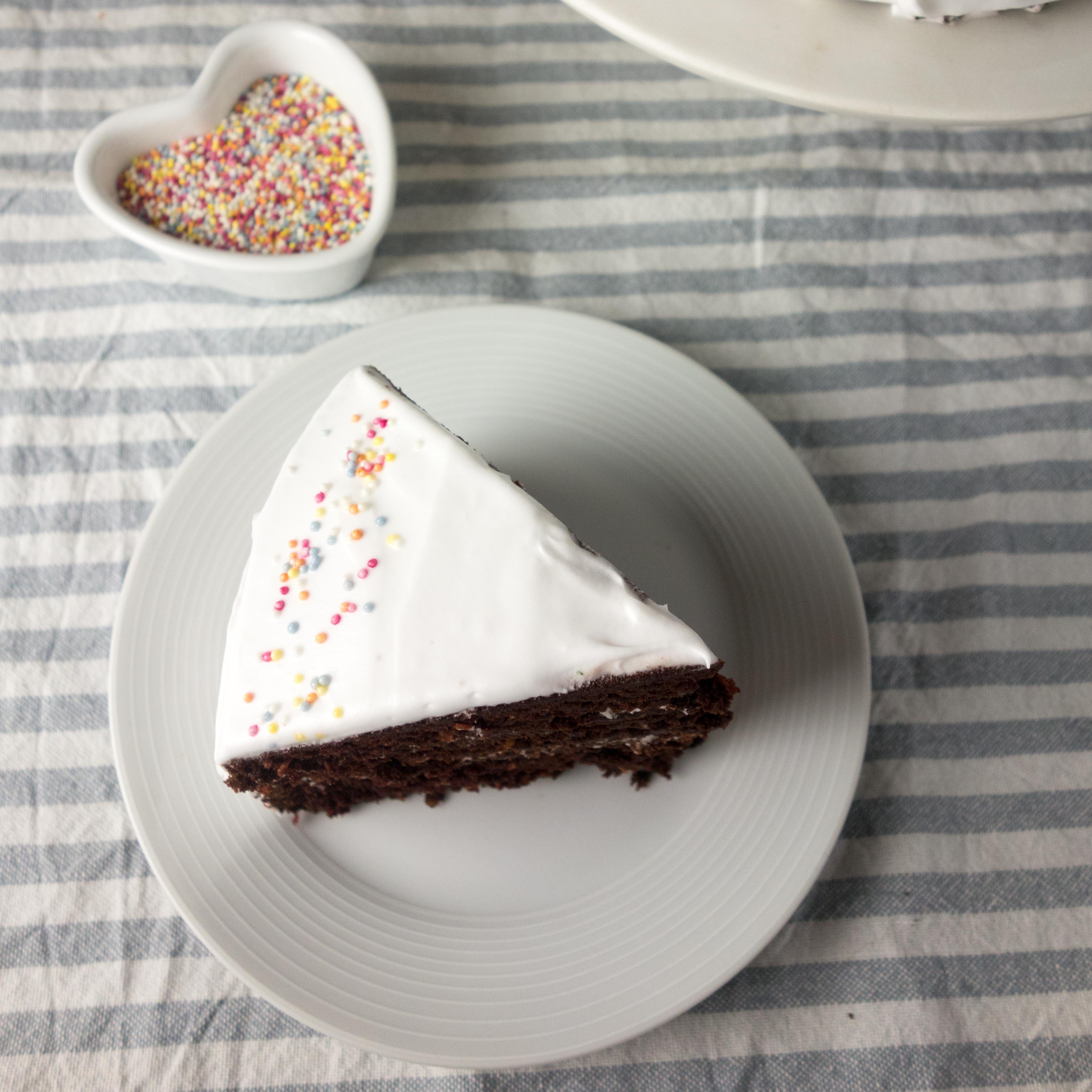 recipe chocolate coconut layer cake