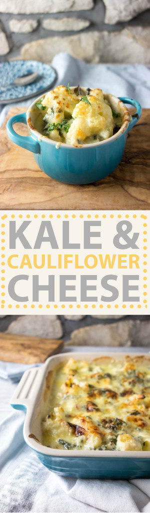 kale cauliflower cheese