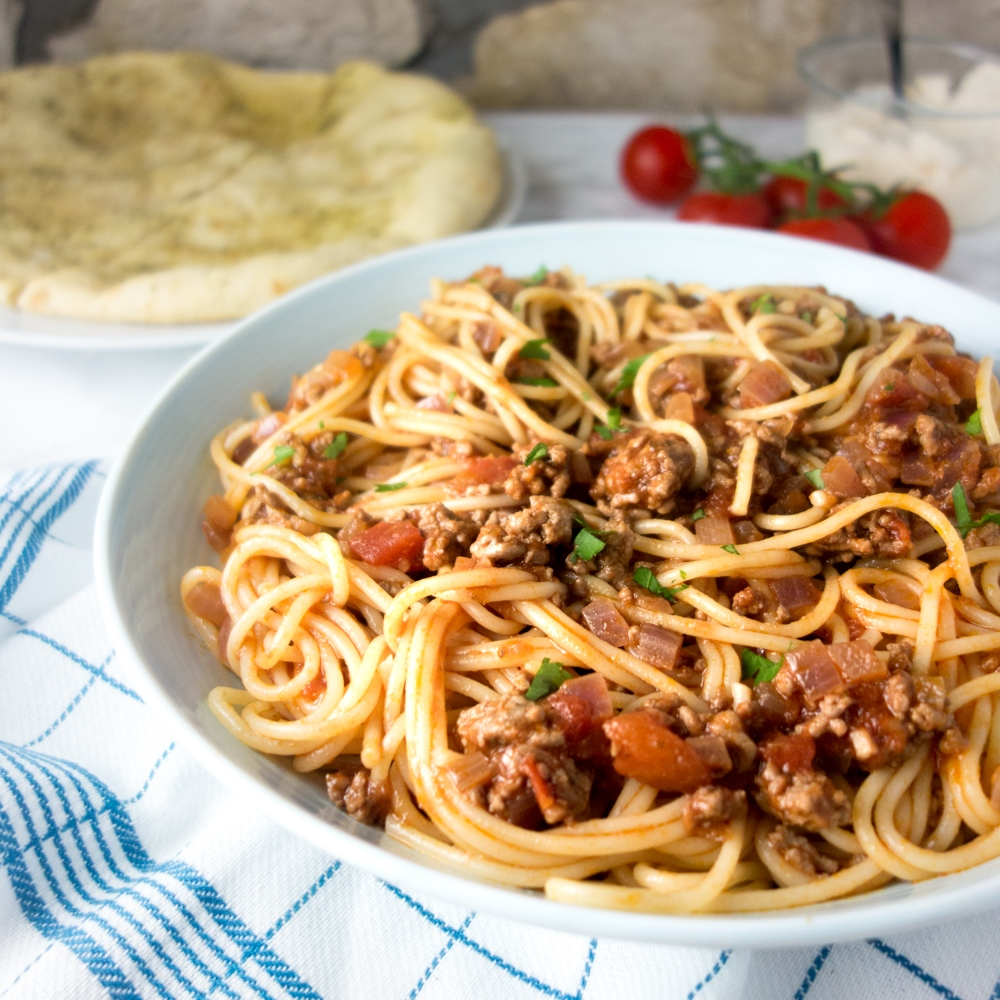 red wine lamb ragu