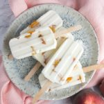 Honey Peach Yoghurt Ice Lollies