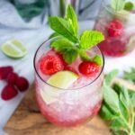 Raspberry Mojito Cocktails
