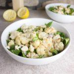 Warm Cauliflower & Tahini Salad