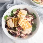 Halloumi Grain Salad + Spicy Yoghurt Dressing