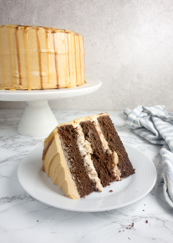 Snickers Birthday Cake - A Dash of Ginger