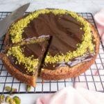 Chocolate Pistachio Sponge Cake