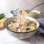 Peanut Miso Noodle Soup